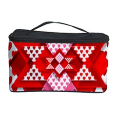 Valentine Heart Love Pattern Cosmetic Storage Case