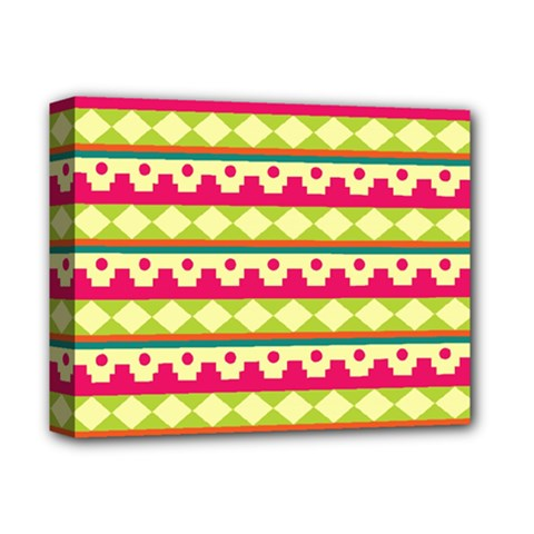 Tribal Pattern Background Deluxe Canvas 14  X 11