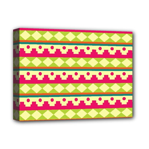 Tribal Pattern Background Deluxe Canvas 16  X 12