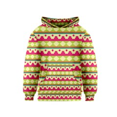 Tribal Pattern Background Kids  Pullover Hoodie
