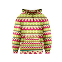 Tribal Pattern Background Kids  Zipper Hoodie