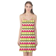 Tribal Pattern Background Camis Nightgown