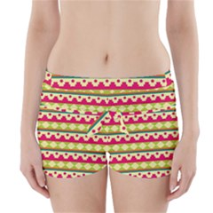 Tribal Pattern Background Boyleg Bikini Wrap Bottoms