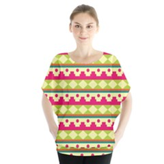 Tribal Pattern Background Blouse