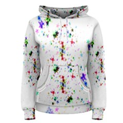 Star Structure Many Repetition Women s Pullover Hoodie