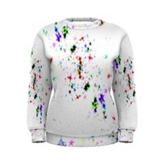 Star Structure Many Repetition Women s Sweatshirt