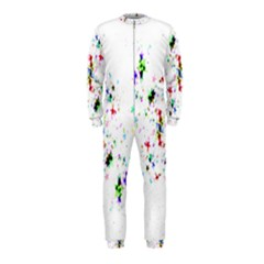 Star Structure Many Repetition Onepiece Jumpsuit (kids)