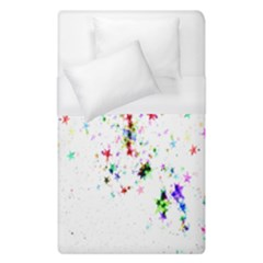 Star Structure Many Repetition Duvet Cover (single Size)