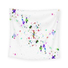 Star Structure Many Repetition Square Tapestry (small)