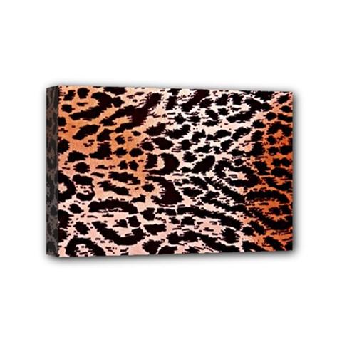 Tiger Motif Animal Mini Canvas 6  x 4