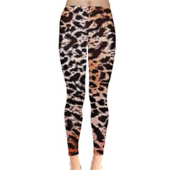 Tiger Motif Animal Leggings