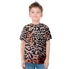 Tiger Motif Animal Kids  Cotton Tee