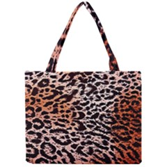 Tiger Motif Animal Mini Tote Bag