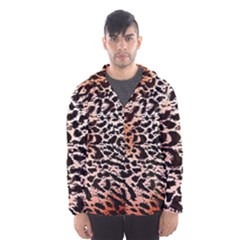 Tiger Motif Animal Hooded Wind Breaker (men)