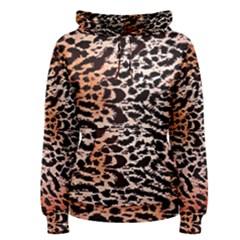 Tiger Motif Animal Women s Pullover Hoodie