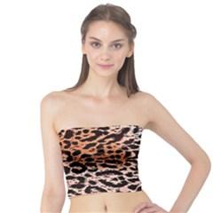 Tiger Motif Animal Tube Top