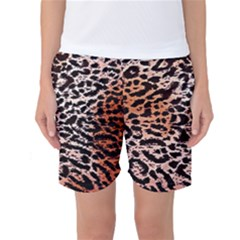 Tiger Motif Animal Women s Basketball Shorts