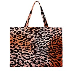 Tiger Motif Animal Large Tote Bag