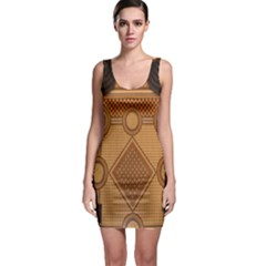 The Elaborate Floor Pattern Of The Sydney Queen Victoria Building Sleeveless Bodycon Dress