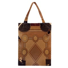 The Elaborate Floor Pattern Of The Sydney Queen Victoria Building Classic Tote Bag