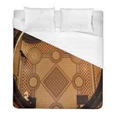 The Elaborate Floor Pattern Of The Sydney Queen Victoria Building Duvet Cover (full/ Double Size)