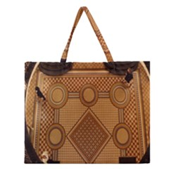 The Elaborate Floor Pattern Of The Sydney Queen Victoria Building Zipper Large Tote Bag