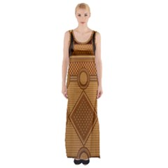 The Elaborate Floor Pattern Of The Sydney Queen Victoria Building Maxi Thigh Split Dress