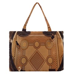 The Elaborate Floor Pattern Of The Sydney Queen Victoria Building Medium Zipper Tote Bag