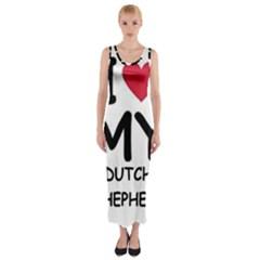 Dutch Shep Love Fitted Maxi Dress