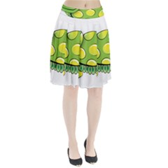 Cartoon Turtle Pleated Skirt