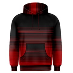 Abstract Of Red Horizontal Lines Men s Pullover Hoodie
