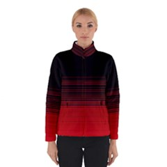 Abstract Of Red Horizontal Lines Winterwear