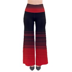 Abstract Of Red Horizontal Lines Pants