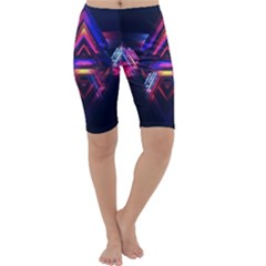 Abstract Desktop Backgrounds Cropped Leggings