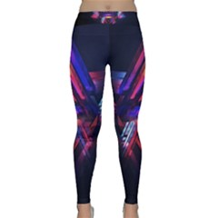 Abstract Desktop Backgrounds Classic Yoga Leggings