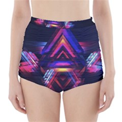 Abstract Desktop Backgrounds High Waisted Bikini Bottoms