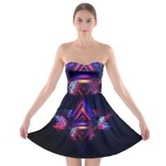 Abstract Desktop Backgrounds Strapless Bra Top Dress