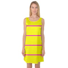 Background Image Horizontal Lines And Stripes Seamless Tileable Magenta Yellow Sleeveless Satin Nightdress