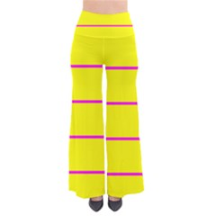 Background Image Horizontal Lines And Stripes Seamless Tileable Magenta Yellow Pants