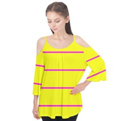 Background Image Horizontal Lines And Stripes Seamless Tileable Magenta Yellow Flutter Tees