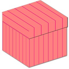 Background Image Vertical Lines And Stripes Seamless Tileable Deep Pink Salmon Storage Stool 12
