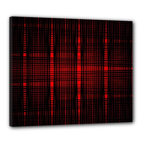 Black And Red Backgrounds Canvas 24  X 20