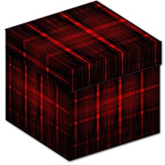 Black And Red Backgrounds Storage Stool 12