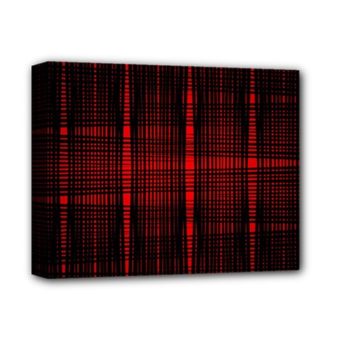Black And Red Backgrounds Deluxe Canvas 14  X 11