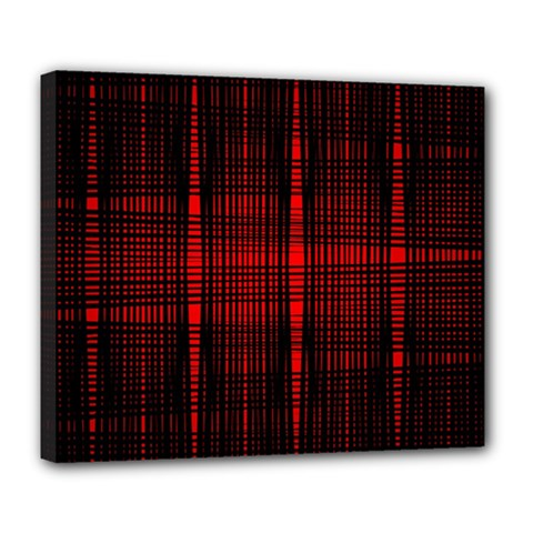 Black And Red Backgrounds Deluxe Canvas 24  X 20