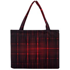 Black And Red Backgrounds Mini Tote Bag