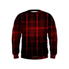 Black And Red Backgrounds Kids  Sweatshirt