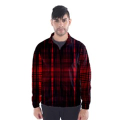 Black And Red Backgrounds Wind Breaker (men)