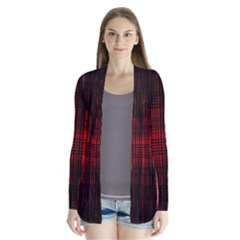 Black And Red Backgrounds Cardigans