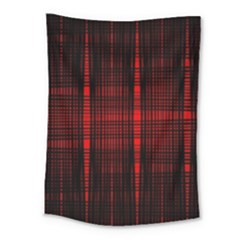 Black And Red Backgrounds Medium Tapestry